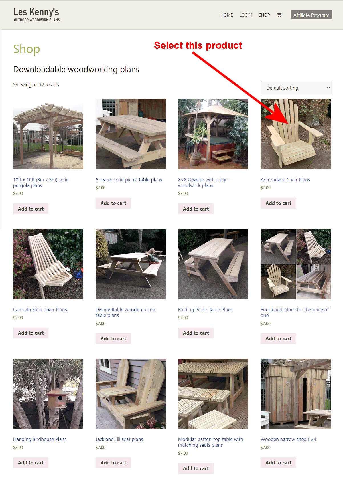 les kennys woodworking plans page